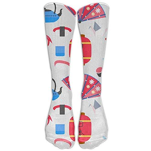 LAKILAN Röhrensocken,Freizeitsocken Life-Socken Im Japanischen Stil