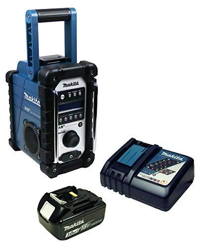 Makita DMR 110 Baustellenradio mit Mini-USB mit Akku 3 Ah + Ladegerät