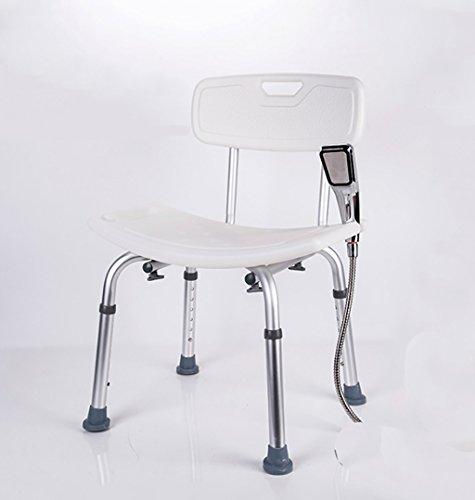 YUD-YJ Sgabello da Bagno per la casa Sgabello da Doccia, Sedia da Bagno per Anziani Donne Incinte disabili, Portata 150 kg (Colore : B)