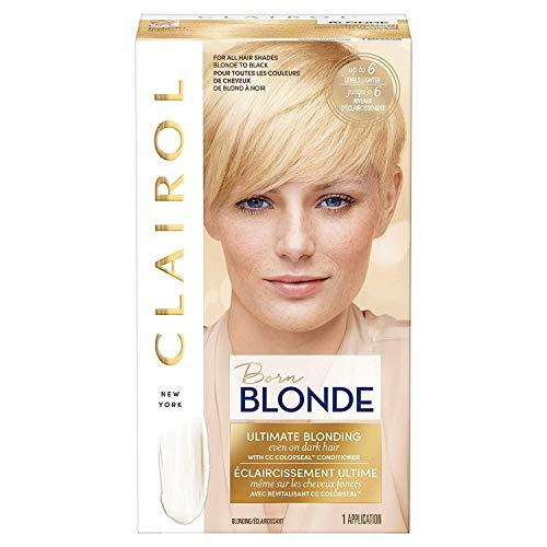 Clairol Nice'n Easy Borne Blonde Permanent Hair Color, Ultimate Blonding, 1 Count
