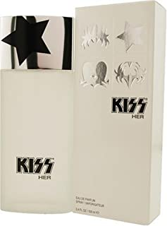 Kiss Her By Kiss For Women, Eau De Parfume Spray, 3.4-Ounce Bottle