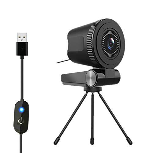 OVBBESS C380 Cámara de Computadora 4K Autofocus Home Office USB 60FPS Micrófono incorporado Conferencia Enseñanza en vivo...