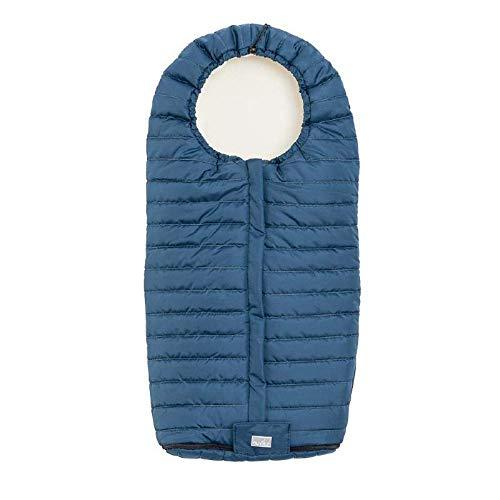 Nuvita 9658 Junior Slender | Saco de dormir universal ultra fino de invierno para recién nacido | 100 x 45 cm | Térmico, impermeable, cortavientos | Mantiene caliente hasta 0 ° | De 6 a 36 meses