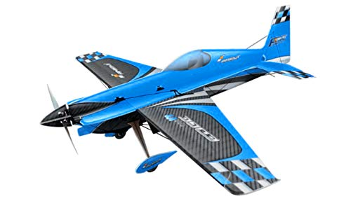 Amewi 24083 Shockflyer Edge 540V3 3mm blau Kit, Flexi Foam, Modellbausatz, ferngesteuert