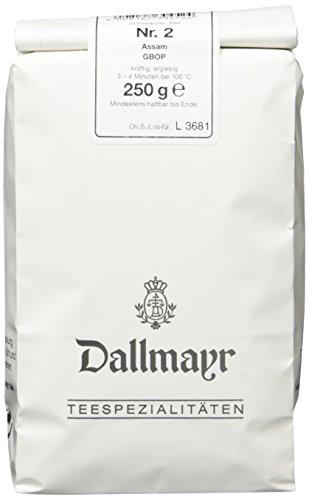 Dallmayr Schwarztee - Assam Broken Orange Pekoe, 1er Pack (1 x 250 g)