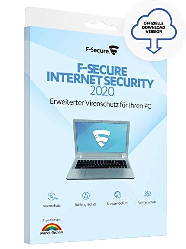 F-Secure Internet Security 2020 - 2 Jahre / 1 Gerät für PC [Online Code]