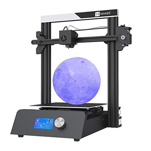 Impresora 3D JGMAKER Kit mágico de bricolaje con detección de agotamiento de filamentos Reanudar impresión Impresoras 3D para Hobbist Education 220x220x250mm