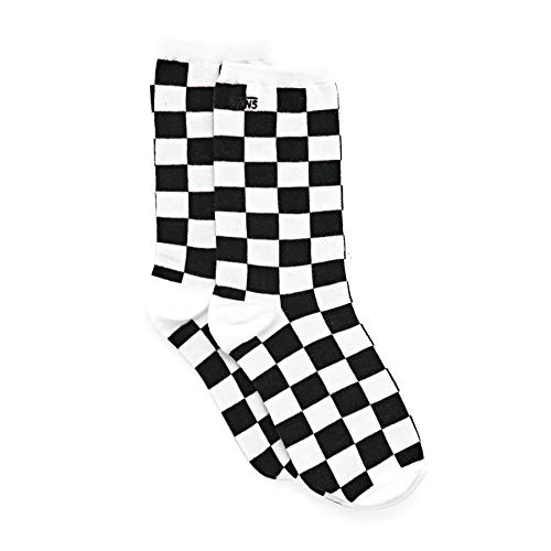 VANS Ticker Womens Crew Socks (BLACK CHECKERBOARD)