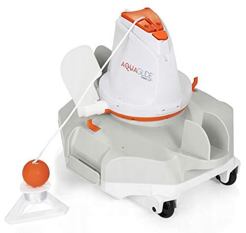 Bestway BW58620 Aquaglide - Robot de limpieza de piscinas inalámbrico para limpieza...