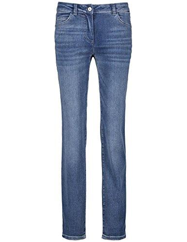 Gerry Weber Hose Jeans VERKUERZT Blue Denim Long USE UND BAFFI - 46