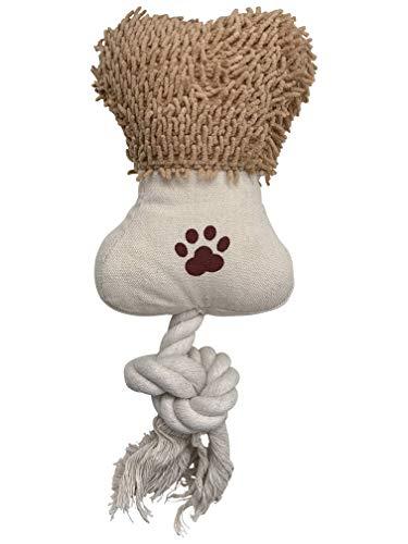 TB HappyPet Plüschkuscheltier, Haustierspielzeug für Hund, Katze, Kaninchen und alle die Spaß an einem kuscheligen Freund haben. Geeignet zum Kauen (Seil), Spielen (Zum Teil Quietschendes Feedback)