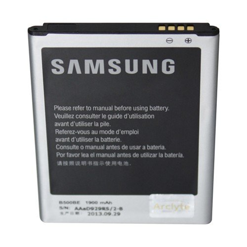 Arclyte Mobile Phone Battery for Original Samsung S4 Mini (B500BE) Litio-Ion Polímero 1900mAh 3.8V batería Recargable - Batería/Pila Recargable (1900 mAh, Polímero de Litio, 3,8 V)