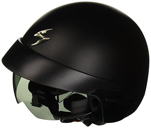 Scorpion, Klapphelm mit abnehmbarem Helmeinstieg und externem Visier. 58 Schwarz