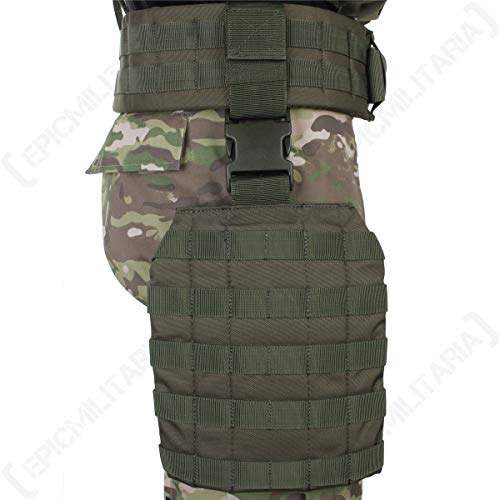 Mil-Tec MOLLE BEINADAPTER Oliv