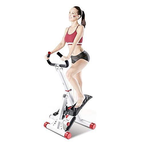 運動に不慣れな人にはハンドル付きが安心人気ランキングNO1 健康ステッパー 折畳収納 組み立ては不要 ナイスデイ 専用ハンドル付 踏み台 運動 室内 エクササイズ 有酸素運動 ダイエット ステッパー 足踏み 健康 器具 静かステップ 運動 器具