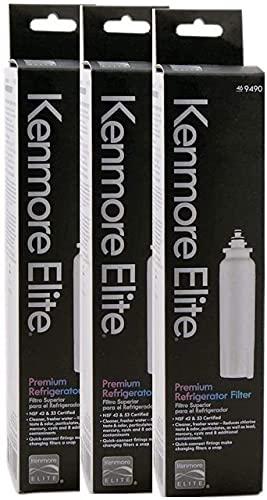 Kenmore Elite 9490 OEM Refrigerator Water Filter (3 Pack)