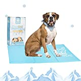 Mora Pets kühlmatte für Hunde Katzen Haustiere Hundematte Kühl kühldecke kühlkissen kühlende hundematte kühldecke selbstkühlend für Katzen und Hunde 50x90 cm