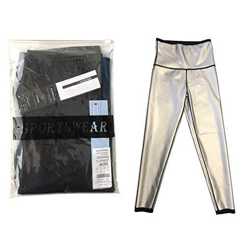 Legging anti Cellulite, Pantalon de Sudation, Legging Femmes Taille Haute avec Nanotechnologie pour...