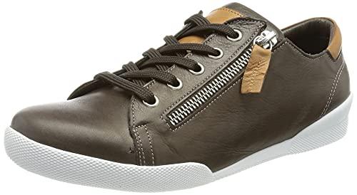 Andrea Conti 347839, Zapatillas Mujer, Kaffee/Brandy, 38 EU
