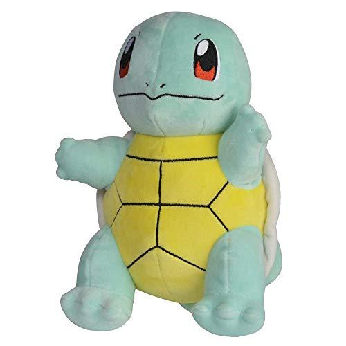Auswahl Pokemon Plüsch-Figuren | 20 cm Plüsch-Tier | Stofftier | Kuscheltier, Plüsch:Schiggy