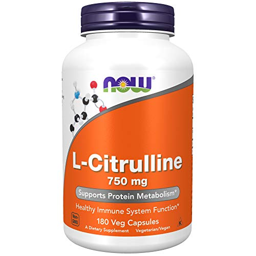 NOW Supplements, L-Citrulline 750 mg, Supports...