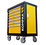 Kompak LZ01 Carro de herramientas de 252 piezas,...