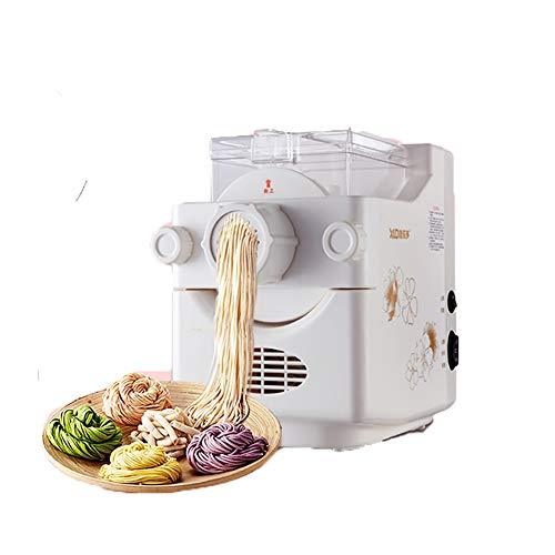 全自動パスタマシン新鮮な自家製Du子ラッパー生地ミキシングホーム小さな垂直電気プレス多機能麺メーカー9金型