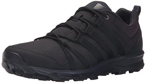 adidas outdoor Men's Tracerocker Trail Running Shoe, Black/Dark Grey/Black, 10.5 M US