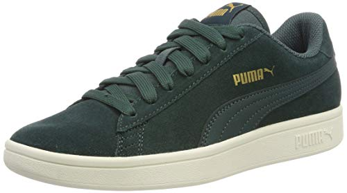 Puma Smash V2, Scape per Sport Outdoor Unisex-Adulto, Verde (Ponderosa Pine Team Gold-Whisper White), 44 EU