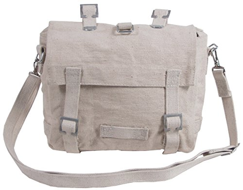 BW Army Kampftasche / Canvas Bag, klein, Farbe: natur