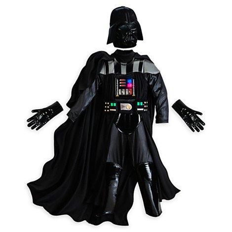 Darth Vader Aufleuchten-Kinder-Kostüm Größe 5-6 Jahre
