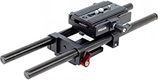 Proaim Universal Rail System 15mm Rod Support for EOS 5D Mark2 7d 550d t2i DSLR DV Camera HDV Video Film Shooting Movie (...