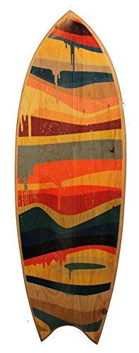SOUFINGSHOP Soufing Shop - Tabla De Surf Decorativa - Colors Paint2