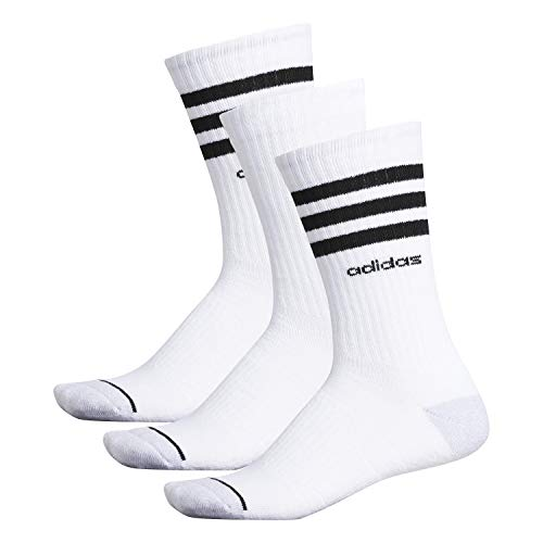 adidas Men's 3-Stripe Crew Sock (3-Pair)