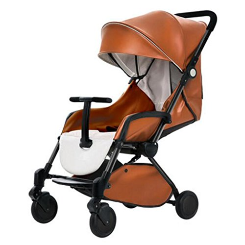Purchase PLDDY Standard Baby Stroller Horizontal Umbrella Stroller Portable Folding 4 Wheel Damping ...