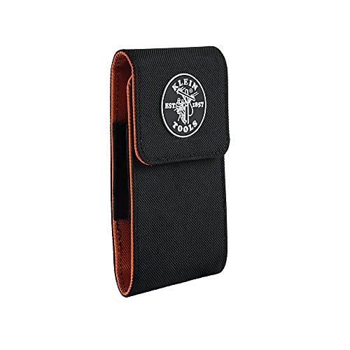 Klein Tools 55474 Phone Case, XXL Cell Phone Case for iPhone 6 Plus, 7 Plus, 8 Plus, Samsung Galaxy S7, S8, S8 Plus, S9, S9 Plus, Note Edge, etc