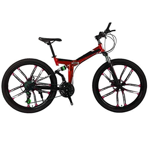 Firally 26'' Bici da Mountain Grande Ruota - Modello Veloce Ruote a Basso Trascinamento - 21 velocità Variabile Massima 60 km/h Ruote 26''