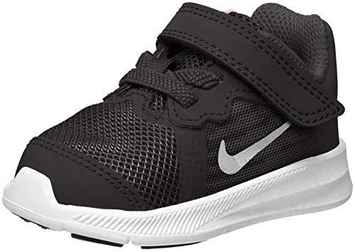 Nike Jungen Kleinstkinder Sneaker Downshifter 8 Hausschuhe, Schwarz (Black/Metallic Silver-Anthracite-White 001), 22 EU