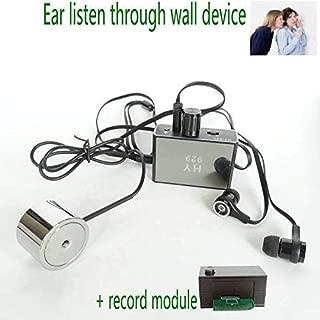 New F999b Super Sensitive Listen Thru-wall Contact/probe Microphone Amplifier System