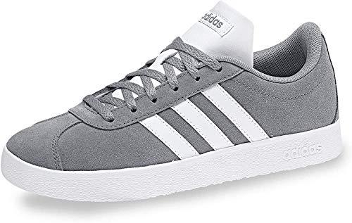 adidas Unisex-Erwachsene Vl Court 2.0 K Fitnessschuhe, Grau (Gris/Ftwbla/Gricua 000), 38 2/3 EU