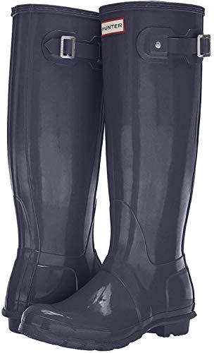 Hunter Original Tall, Botas Unisex, Azul (Navy), 37 EU
