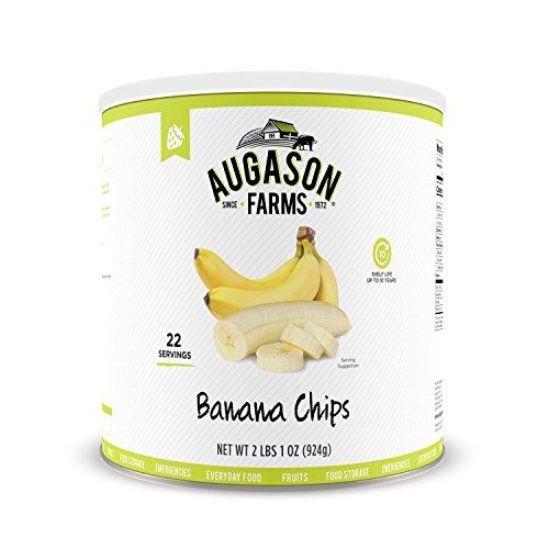 Augason Farms Banana Chips 2 lbs 1 oz No. 10 Can Only $9.98 (Retail $23.99)