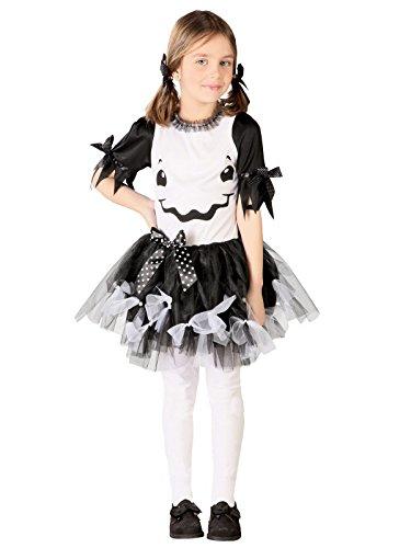 Disfraz de Fantasma para Niña Haloween - 5 a 6 años