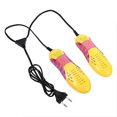 GOTOTOP Yosoo asciuga Scarpe elettrico Scalda essiccatore deodorant sterilizzator demidificatore, Apparecchio riscaldamento e asciugatura scarpe