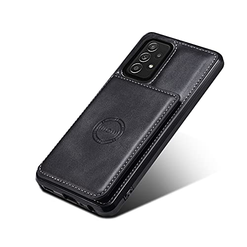 AHTONG Galaxy Note 20 Ultra Wallet Case with Credit Card Slot Holder Case [4 Cards] [Car Mount Function], PU Leather Wallet Case for Galaxy Note 20 Ultra 5G 6.9 inch(2020) (Black)