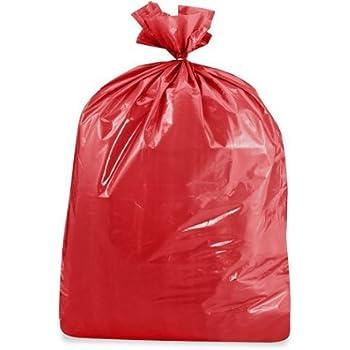 by Heath AX-AY-ABHI-109554 33 Gallon, RED Durable Facilities Maintenance Quality Trash Bags