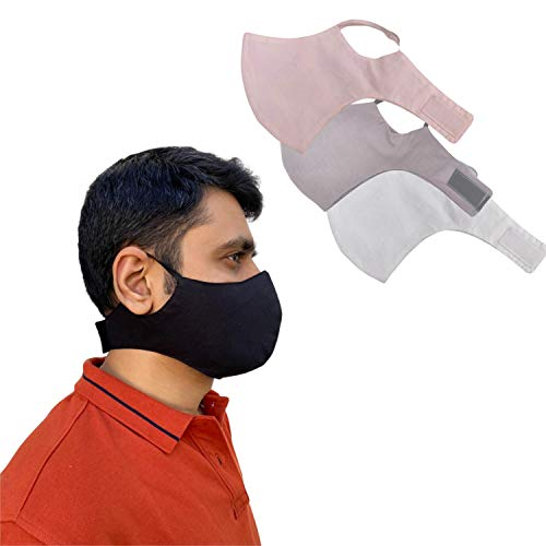 Shaila's Couture Sports Gym Workout Face Masks with Neck Strap...