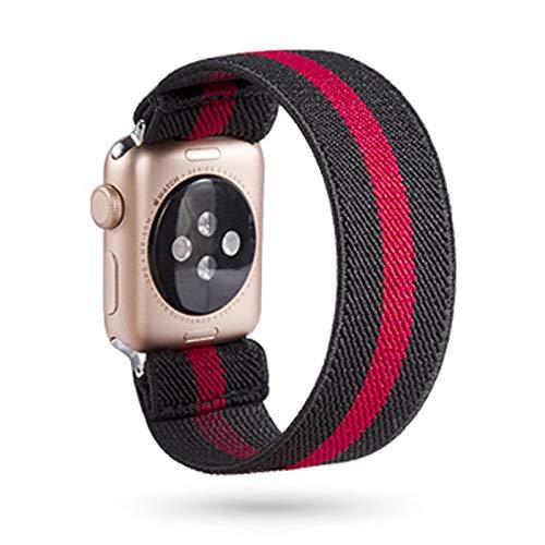 LGFCOK Scrunchie Correa for Reloj de la Banda de Apple 40mm 44mm elástico de Las Mujeres Correa 42mm 38mm Pulsera de la muñeca for IWATCH Serie 5 4 3 2 1 (Band Color : 106, Band Width : 42mm 44mm)
