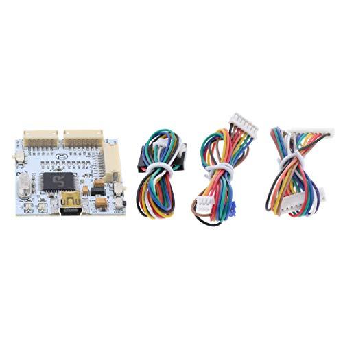 Baoblaze Xecuter JR J-R Programador V2 NAND SPI con Juego de 3 Cables de Accesorios para Cámaras Digitales