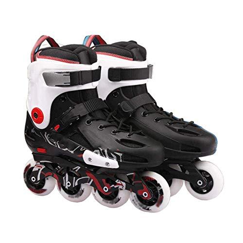 Roller Skates, Adjustable Roller Skates, Four Wheel Flash Roller Skates For...